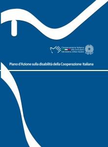 copertina del Piano di Azione sulla disabilità della Cooperazione Italiana