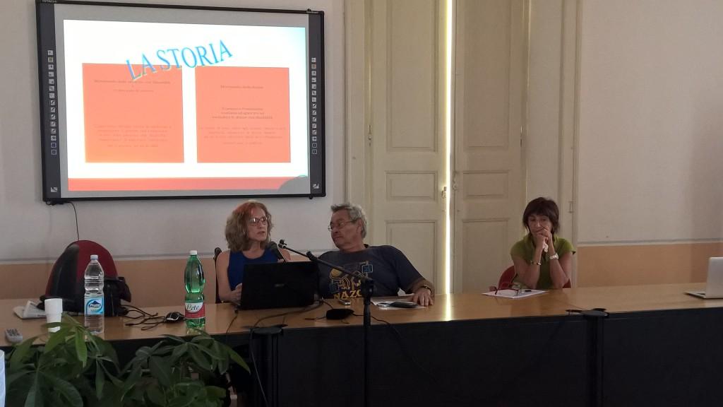 """Un momento del seminario """"L'empowerment delle persone con disabilità"""""""